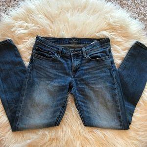 Lucky brand Sienna Cigarette jeans denim size 2/26